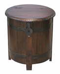 Anya Barrel End Table-Taverna