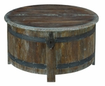 Anya Barrel Storage Table
