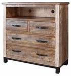 Artisan Rustic Aspen Media Chest