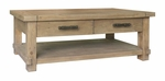 Classic Home Caleb Rectangular Coffee Table