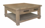 Classic Home Caleb Square Coffee Table