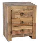 Classic Home Omni Three-Drawer Nightstand
