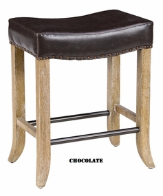 Classic Home Rustic Camille Backless Stool