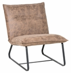 Classic Home Rustic Chester Lounge Chair