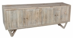 Classic Home Rustic Garret 4-Door Media Stand