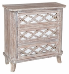 Classic Home Rustic Lattice Chest