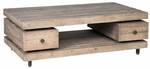 Classic Home Rustic Palmetto Coffee Table