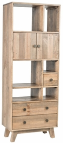 Classic Home Rustic Sorrento Small Wall Unit