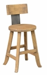 Classic Home Rustic Tanner Stool