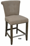 Classic Home Rustic Vicente Stool