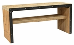 Classic Home Rustic Wade Gathering Table