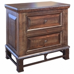 Golden Antique Nightstand