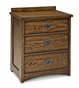 Oak Park 3-Drawer Nightstand