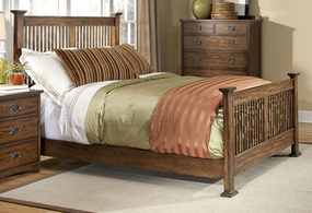 Oak Park Mission Style Bed
