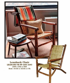 Old Hickory Leanback Chair