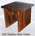 Old Hickory Old Timber End Table