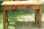 Rustic Autumn Sofa/Side Table