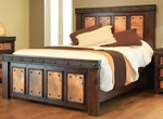 Rustic Copper Canyon Bed