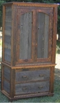 Rustic Country Armoire