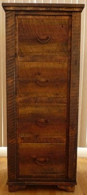 Rustic Country File Cabinet