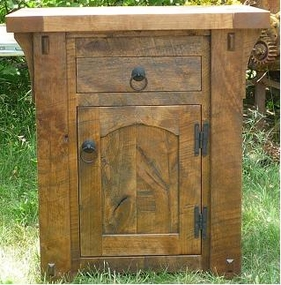 Rustic Creek Night Stand