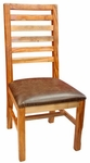 Rustic Guamuchil Ladder Back Chair