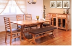 Rustic Guamuchil Rectangular Dining Table