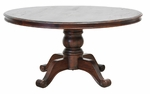 Rustic Hampton Round Dining Table