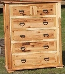 Rustic Hickory Chest