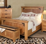 Rustic Lodge Bed