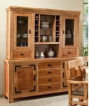 Rustic Lodge Buffet/Hutch