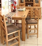 Rustic Lodge Counter Height DiningTable