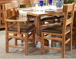 Rustic Lodge Dining Chairs
