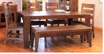 Rustic Monte Carlo Dining Table