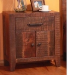 Rustic Monte Carlo Nightstand