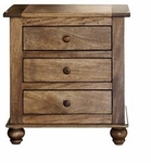 Rustic Provence 3-Drawer Night Stand