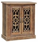 Rustic Sonya Two-Door Cabinet