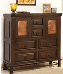 Rustic Valencia Gentleman's Chest