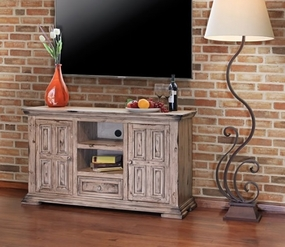 Terra 55-Inch TV Stand, Linen Finish