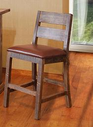Rustic Antique Bar Stool