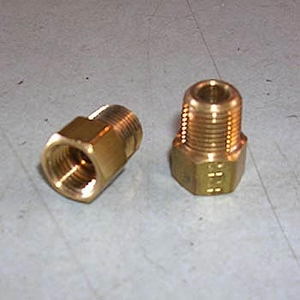 Connector, 3/16inch invf x 1/8inch MPT