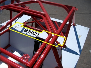 Rear Deck Front Section