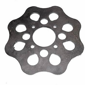 """Rotor, Front, 10"""" Scalloped"""