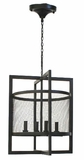 Adele Wrapped Iron Frame Chandelier