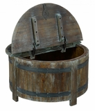 Ayala Barrel Storage Table 36""