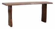 Dakota Natural Edge Console Table