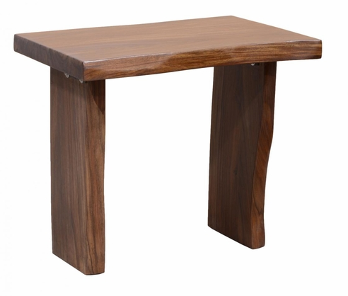 Dakota Natural Edge End Table