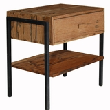 Lincoln Reclaimed Teak End Table