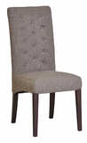 Mia Linen Side Chair - Slate