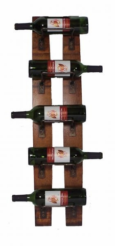 Reclaimed Stave Wine Rack